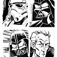 Star Wars Illustrated Sketch Cards